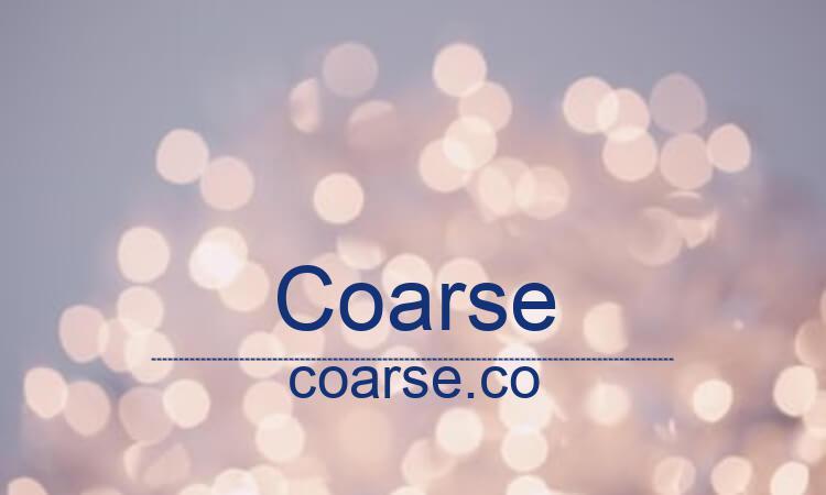COARSE.CO