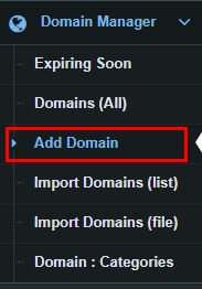 DNHAT Domain list Manager block