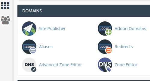Select Domain Aliases